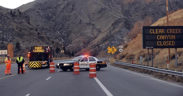 Highway 6 closed