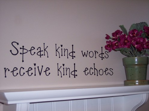 kind words quote