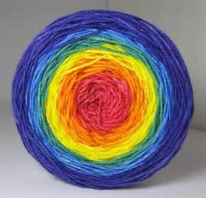 rainbowsockcake