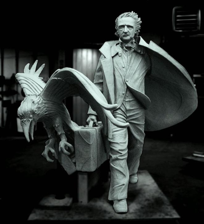 'Poe Returning to Boston'  © Stefanie Rocknak