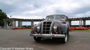 Chrysler Airflow in Napier, New Zealand.